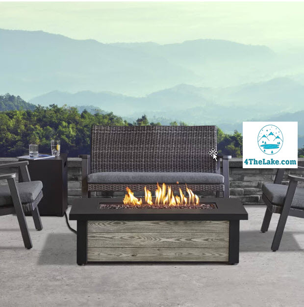 Best Gas Fire Pits For Decks 2020 High End Luxurious Fire Pits 4 The Lake